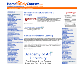 homestudycourses.net screenshot