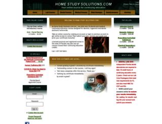homestudysolutions.com screenshot