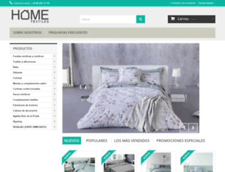 hometextilesstore.com screenshot