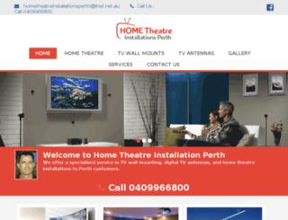 hometheatreinstallationperth.com screenshot