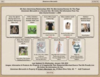 hometownmercantile.com screenshot