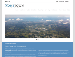 hometowntrinity.com screenshot