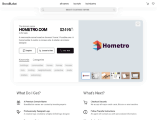 hometro.com screenshot