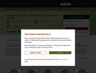 homewardlegal.co.uk screenshot