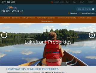 homewaters.net screenshot