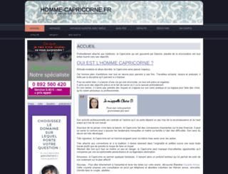 homme-capricorne.fr screenshot