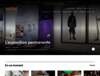 hommes-et-migrations.fr screenshot