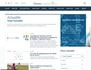 homo-connecticus.com screenshot