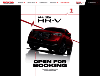 honda.com.my screenshot