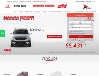 hondaavante.com screenshot