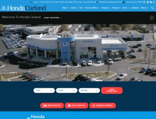 hondacarland.com screenshot
