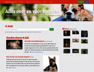 hondenrassen.nl screenshot