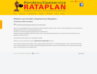 hondenuitlaatservicerataplan.nl screenshot