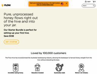honeyflow.com.au screenshot