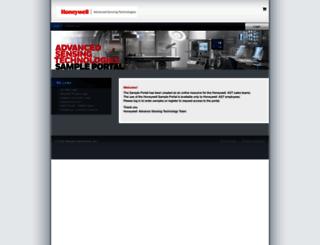 honeywell.supplier-direct.com screenshot