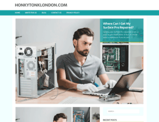 honkytonklondon.com screenshot