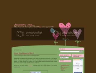 honneymarie.blogspot.com screenshot