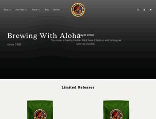 honolulucoffee.com screenshot