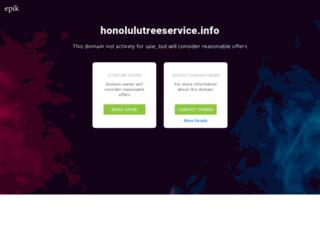 honolulutreeservice.info screenshot
