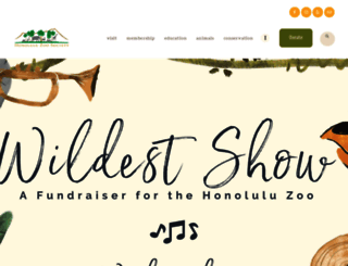 honoluluzoo.org screenshot