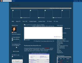 honorklik.blogspot.com screenshot