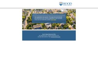 hoodcollege.my-online-app.com screenshot