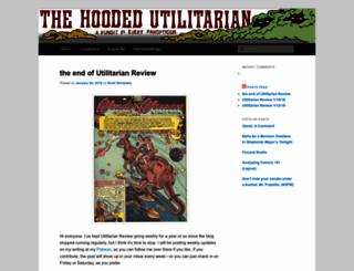 hoodedutilitarian.com screenshot