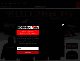 hoonigan.com screenshot