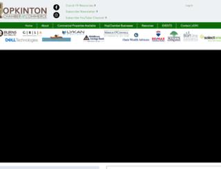hopchamber.com screenshot