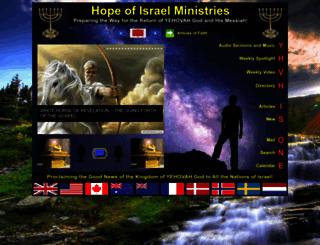 hope-of-israel.org screenshot