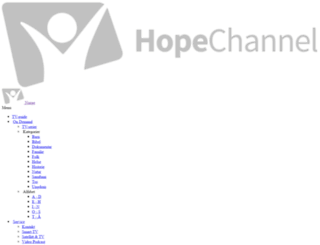 hopechannel.no screenshot