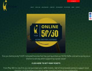 hopehelps.com screenshot