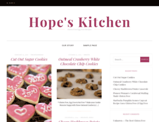 hopeskitchen.info screenshot