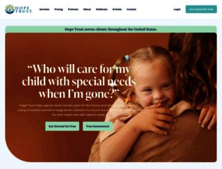 hopetrust.com screenshot