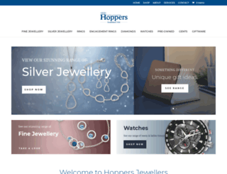 hoppersjewellers.co.uk screenshot