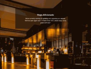hopsaficionado.com screenshot
