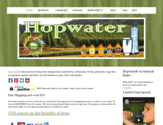 hopwater.com screenshot
