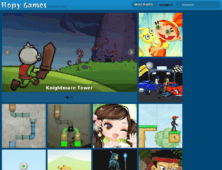 hopygame.org screenshot