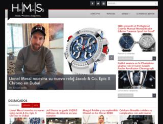 horasminutosysegundos.com screenshot
