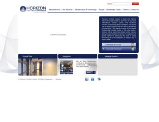 horizoncontactcenters.com screenshot