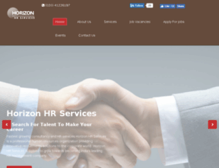 horizonhrservices.com screenshot