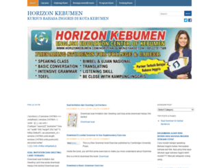 horizonkebumen.wordpress.com screenshot
