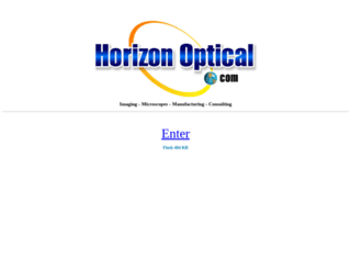 horizonoptical.com screenshot