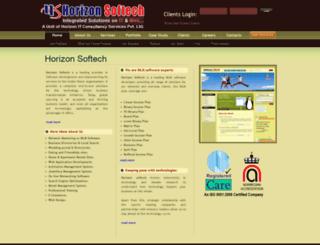 horizonsoftech.com screenshot