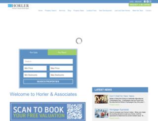 horler.co.uk screenshot