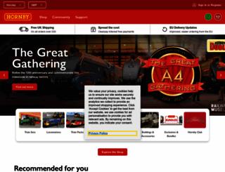 hornby.com screenshot