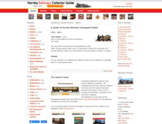 hornbyguide.com screenshot