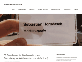 horndasch.net screenshot