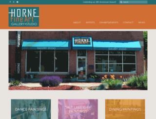 hornefineart.com screenshot