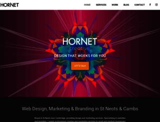 hornetcreative.com screenshot